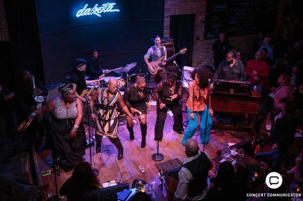Liv Warfield, Judith Hill & Shelby J at Dakota Jazz Club in Minneapolis, MN 03/18/2017