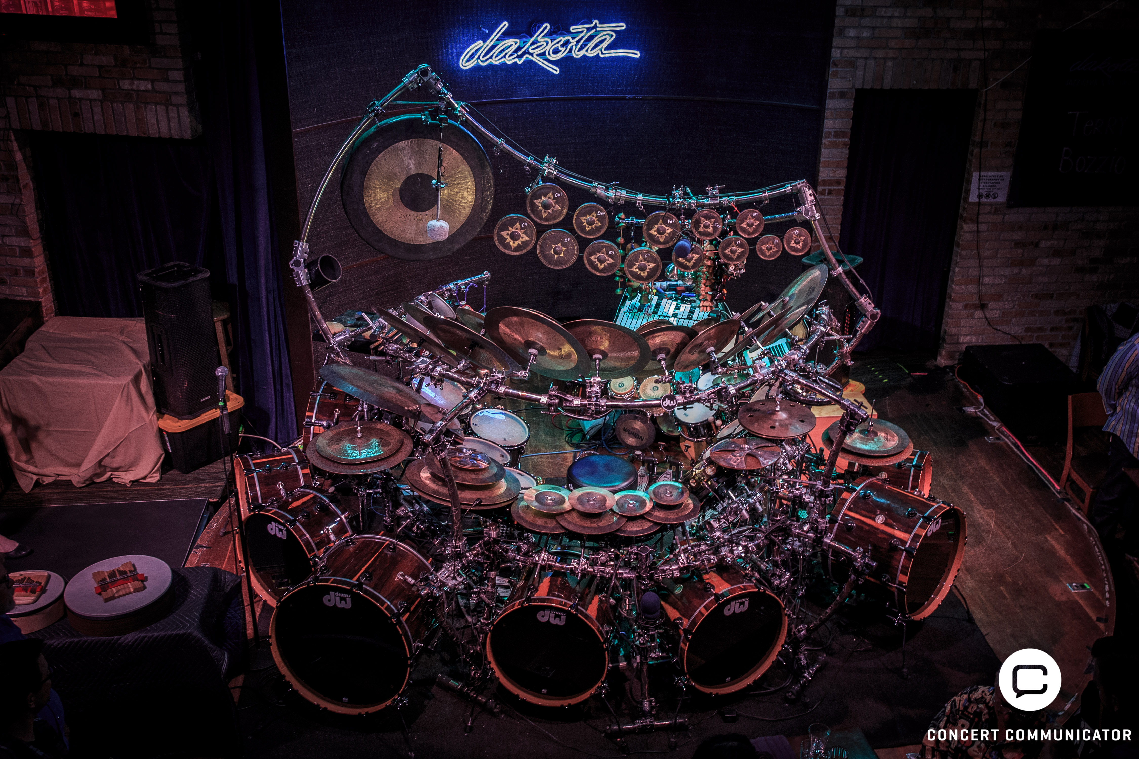 Terry Bozzio Drumset @ Dakota