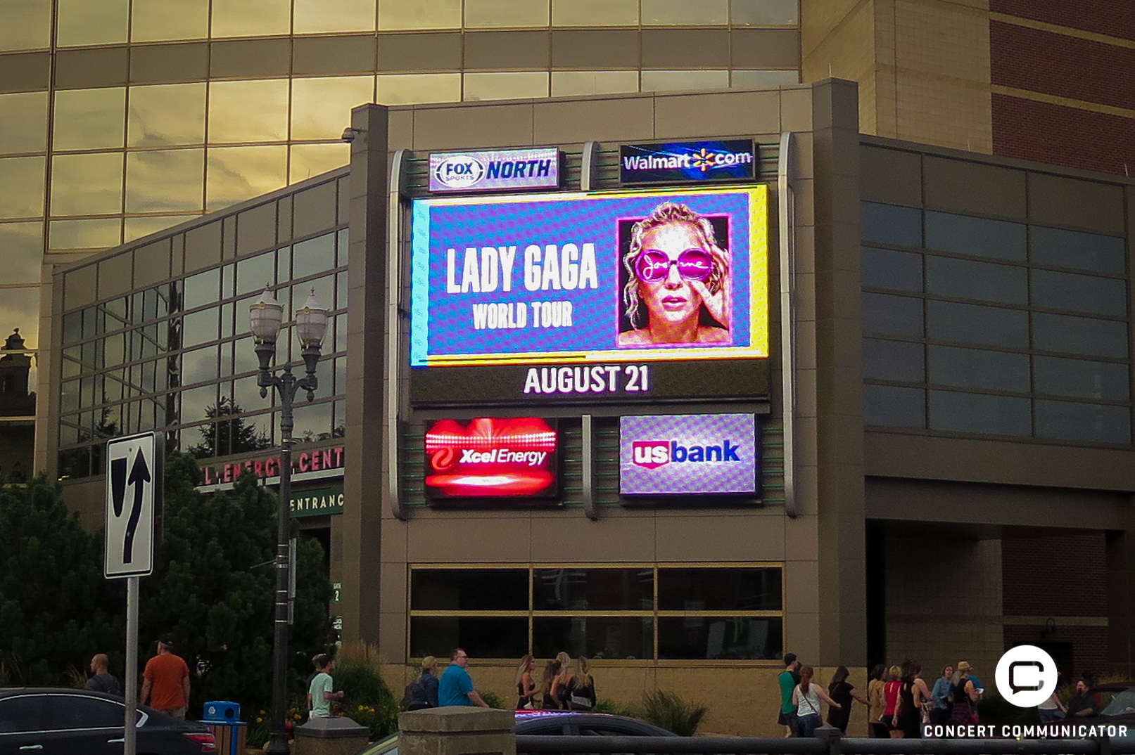 Lady Gaga @ Xcel Energy Center
