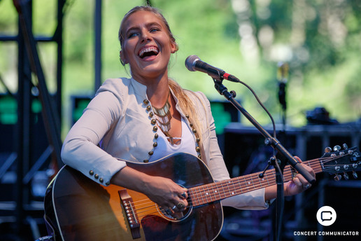 Lauren Jenkins opened for Delta Rae as they kicked off the 2017 Music in the Zoo concert series June 14th
