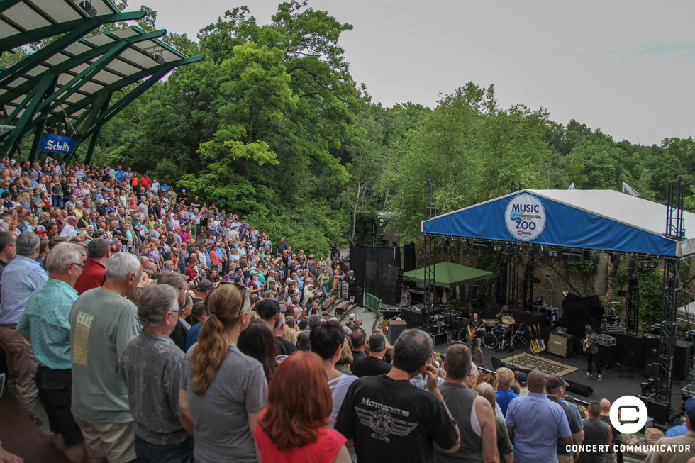 Anthony Gomes opens for George Thorogood and the Destroyers Music in the Zoo performance 06/24/2018