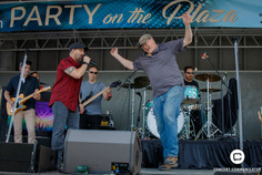 Chris Hawkey Band plays US Bank Stadium's Party on the Plaza - May 25, 2017