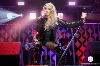 SABRINA CARPENTER performs onstage during 101.3 KDWB's Jingle Ball 2017 Presented by Capital One at Xcel Energy Center on December 4, 2017 in St. Paul, MN.
