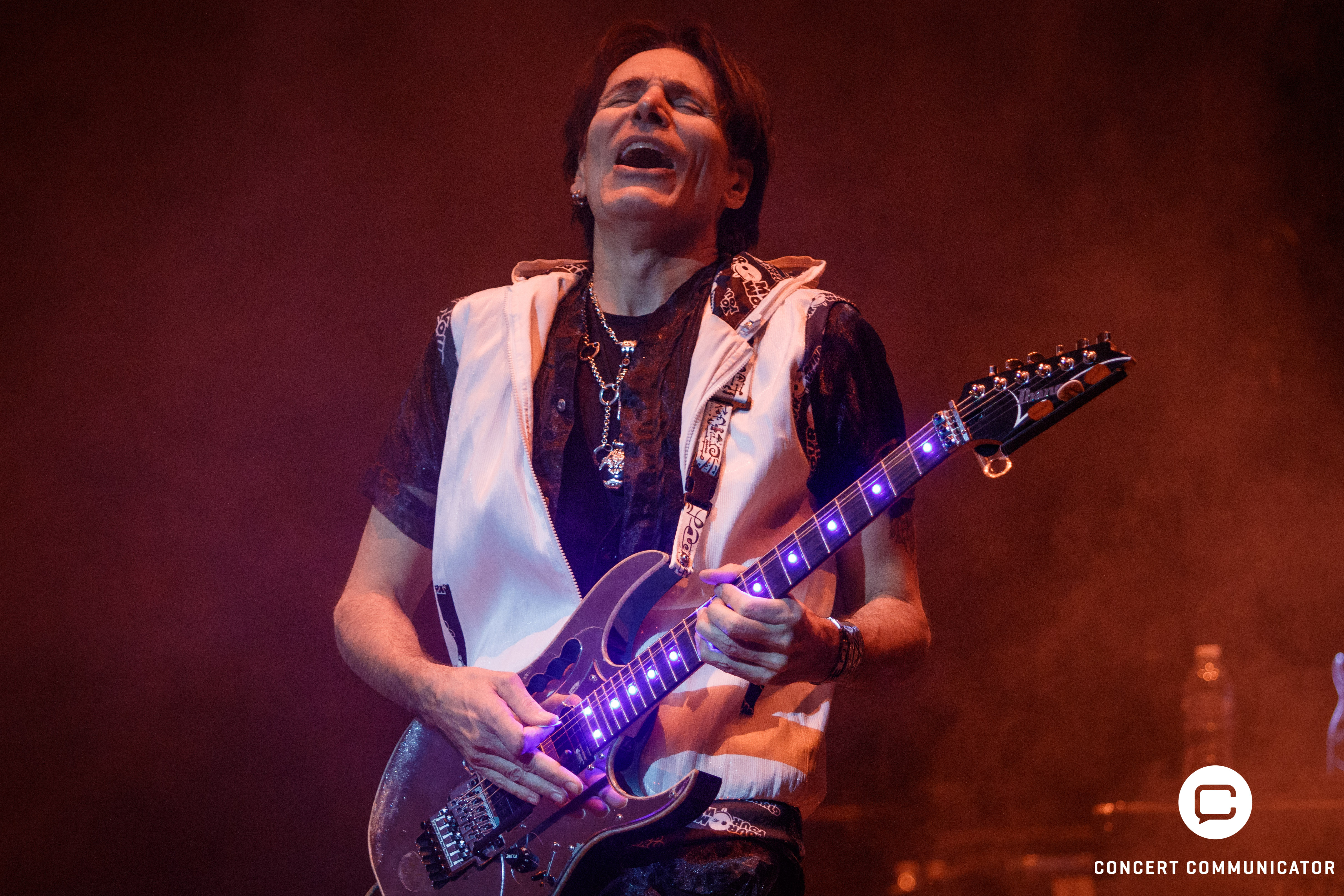 Steve Vai at the Ames Center
