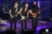 Joe Satriani, Phil Collen, John Petrucci on G3 Tour 2018 at the State Theatre in Minneapolis, MN
