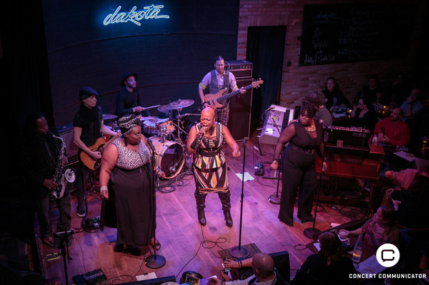Liv Warfield, Judith Hill & Shelby J at Dakota Jazz Club in Minneapolis, MN 03/18/2017