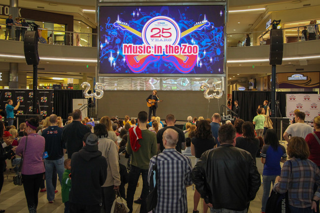 2017 Music in the Zoo line-up revealed at Mall of America on April 15, 2017