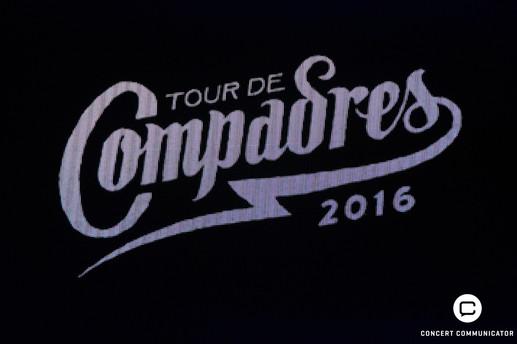 TOUR DE COMPADRES 2016 NEEDTOBREATHE, Mat Kearney, Parachute, Welshly Arms at Roy Wilkins Auditorium 10/27/16