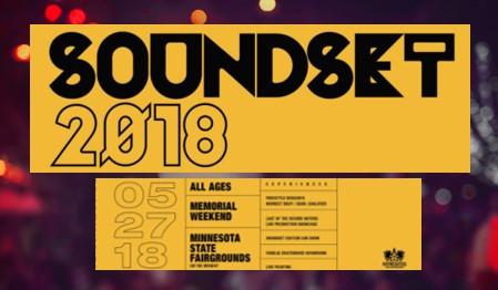 Soundset 2018 Lineup Announced