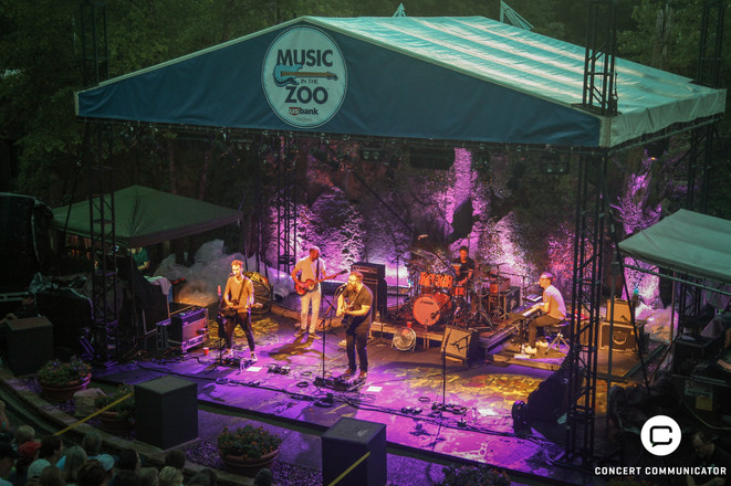 Gomez 06/17/2018 performance at Music in the Zoo