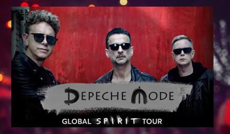 Depeche Mode Global Spirit Tour in Chicago, June 1, 2018