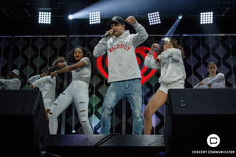 LIAM PAYNE performs onstage during 101.3 KDWB's Jingle Ball 2017 Presented by Capital One at Xcel Energy Center on December 4, 2017 in St. Paul, MN.