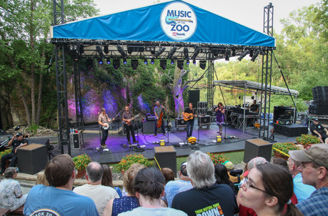 Yonder Mountain String Band at Music in the Zoo 07/03/2018