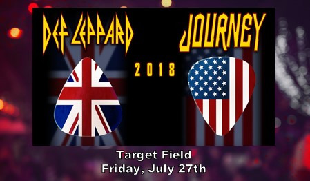 Def Leppard & Journey Tour Coming to Target Field