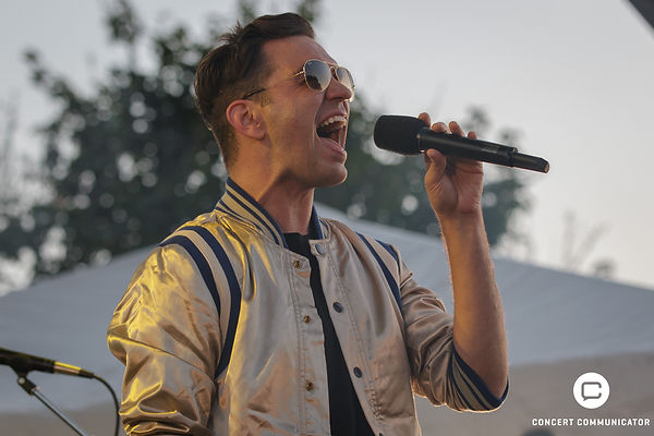 Andy Grammer at Basilic Block Party 2018