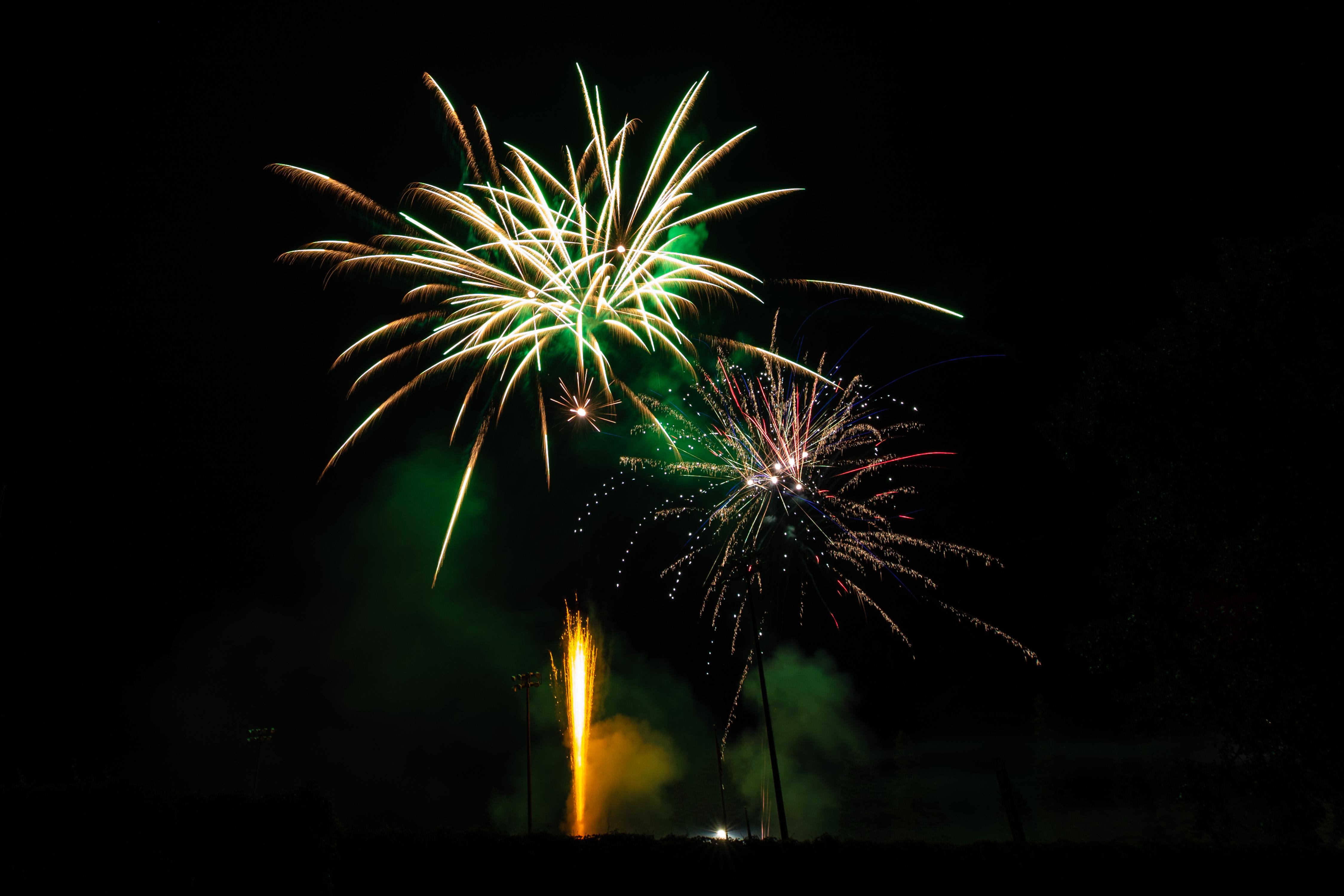 Rox Baseball Fireworks
