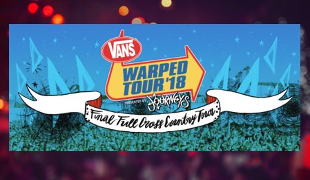 Van's Warped Tour '18 Final Full Cross Country Tour