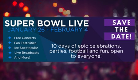 Super Bowl Live in Minneapolis