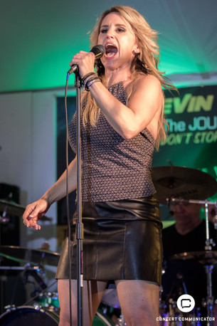 Kevin Chalfant The Journey Experience backed by Stephanie V 'n Headliner