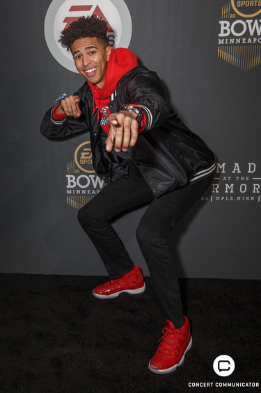 EA Sports Bowl Red Carpet Event at the Armory in Minneapolis, MN on Thursday, Feb. 1, 2018