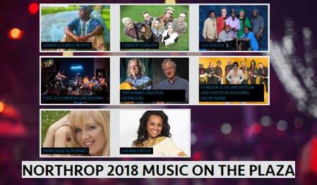 Northrop 2018 Music on the Plaza