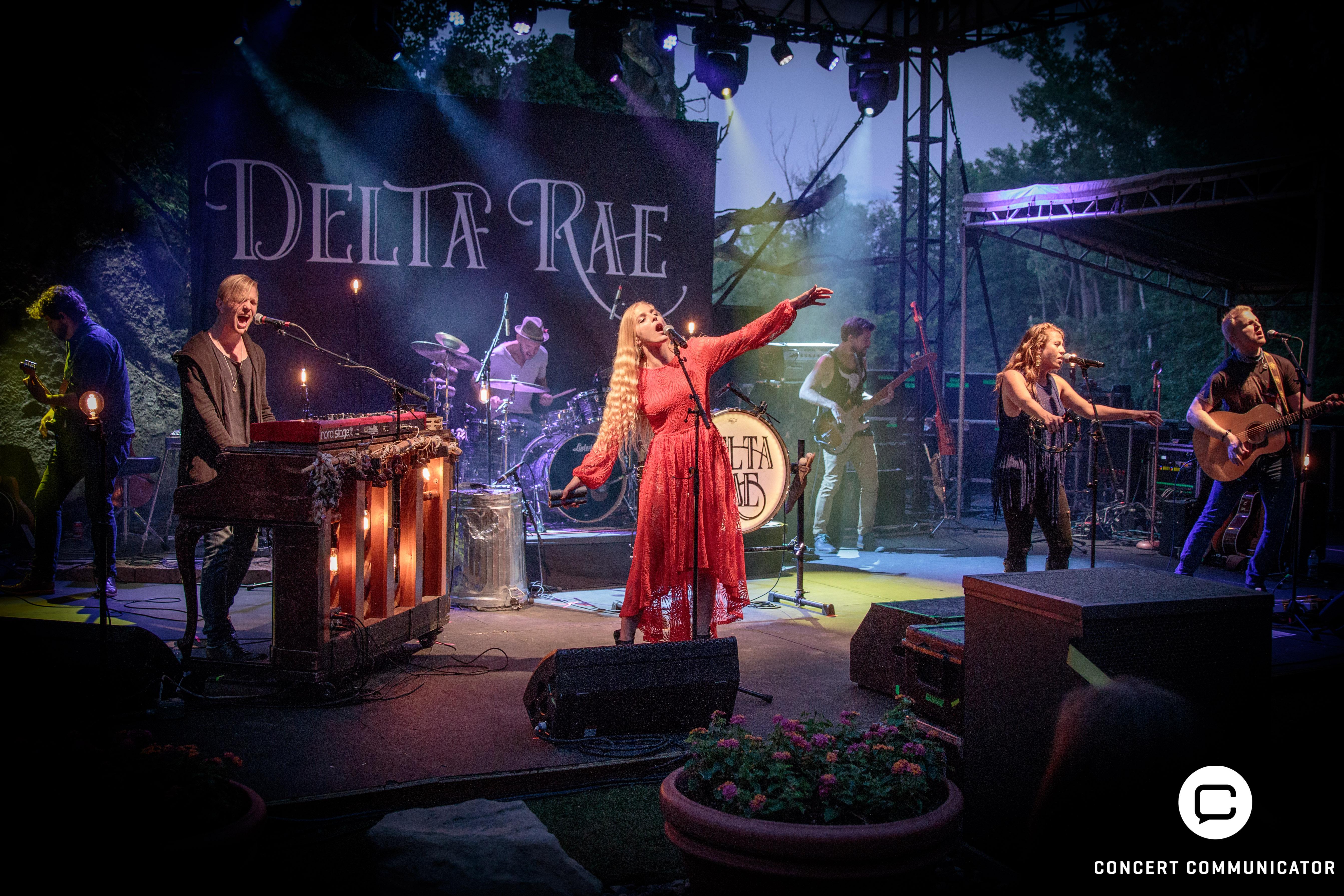 Delta Rae - Opening Night