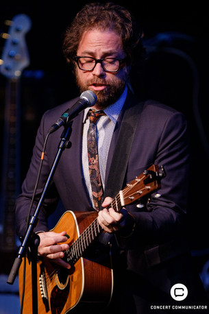 Jonathan Coulton opens for Aimee Mann at the Fitzgerald Theater in St. Paul, MN 05/03/2017