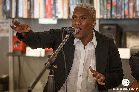 Liv Warfield at Electric Fetus in Minneapolis, MN 04/18/2018