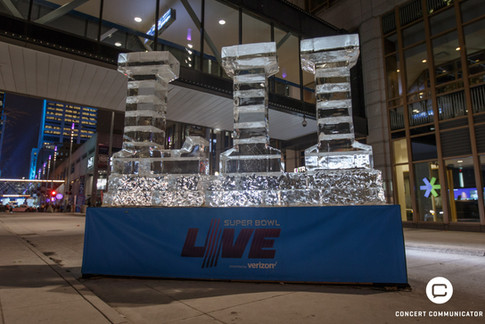 Super Bowl Live on Nicollet Mall in Minneapolis, MN