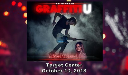 Keith Urban Graffiti U Tour coming to Target Center 10/13/2018