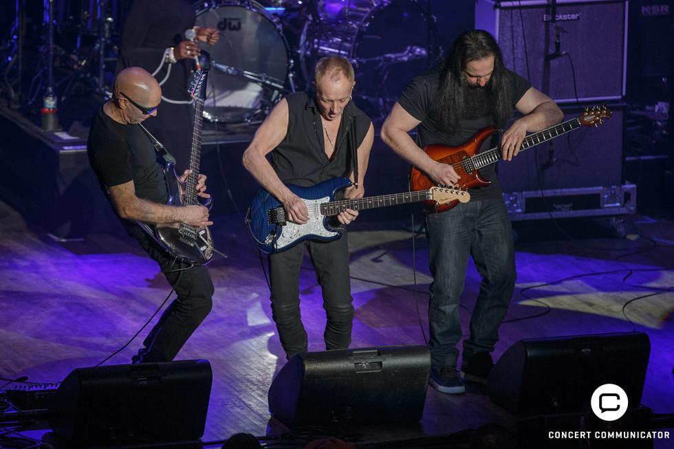 Joe Satriani, Phil Collen, John Petrucci