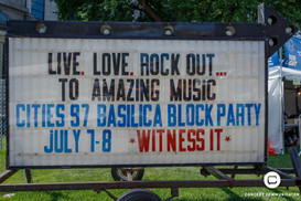 Basilica Block Party Day 1 - 07/07/2017