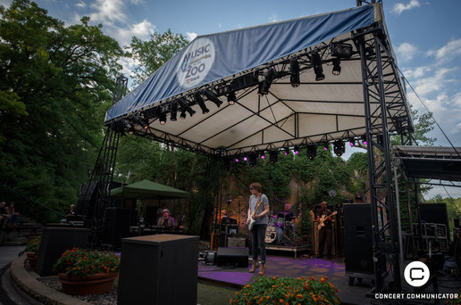Quinn Sullivan opens for Buddy Guy at Music in the Zoo 06/28/2018