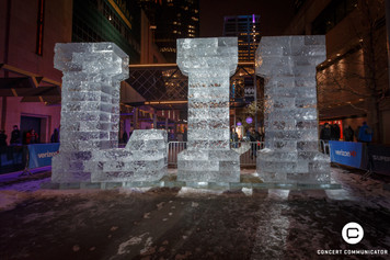 LII Made out of Ice Blocks