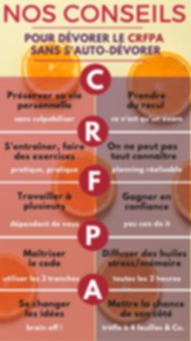 Conseil pour réussir son CRFPA