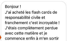 temoignage flashcards droit responsabili