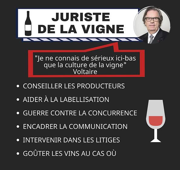 Juriste de la vigne