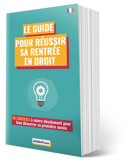 couverture guide reussir rentree fac dro