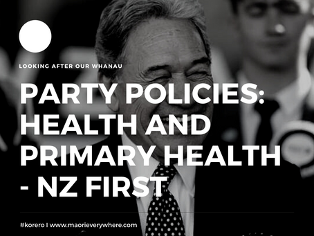NZ FIRST Health Policy and Analysis
