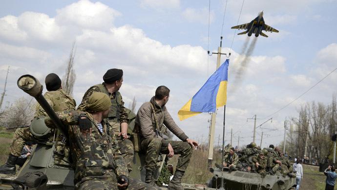 The war in the Ukraine