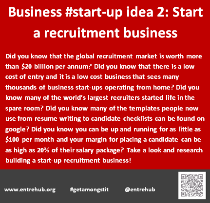 Business #start-up idea 2: Start a r