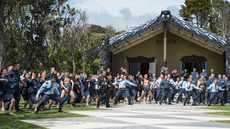 Airforce opens its first Marae