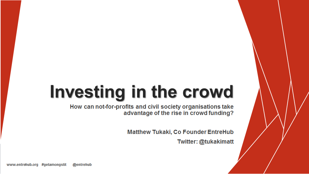 Investing in the Crowd
