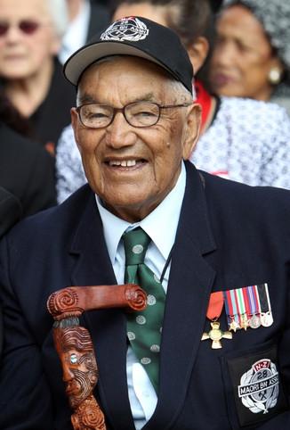 Nolan Raihana, one of the last surviving members of the 28th Maori Battalion passes away
