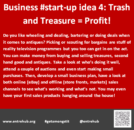 Business #start-up idea 4: Trash and