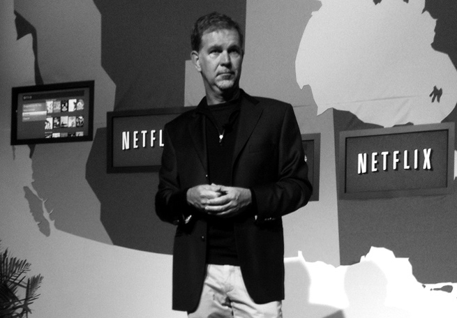 Reed Hastings, Founder of Netflix