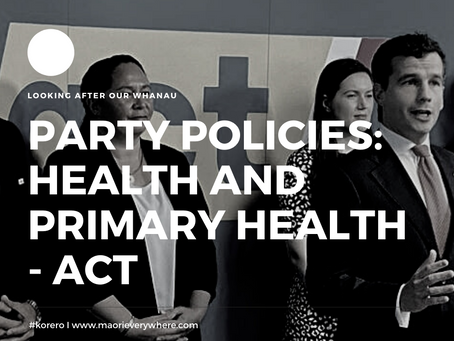 ACT Health Policy and Analysis