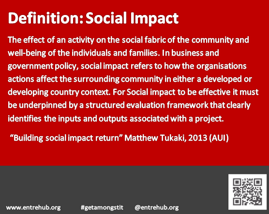 Definition of Social Impact
