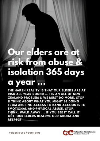 Elder abuse - COVID19 is an opportunity for us to address it