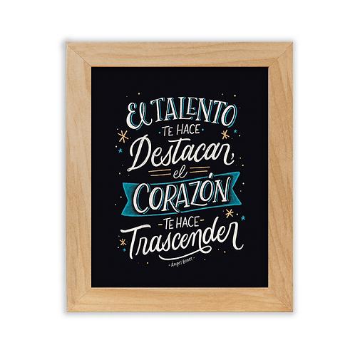 "Cuadro ""Trascender"""